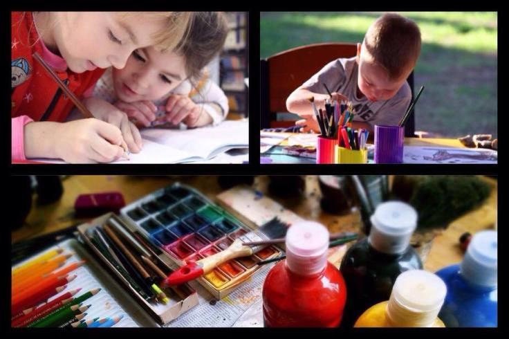 atelier créatif enfant-