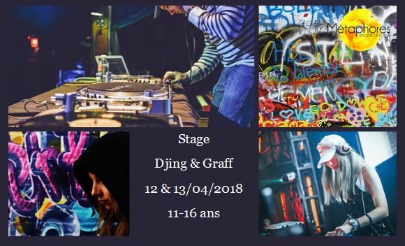 Stage DJ & Graff